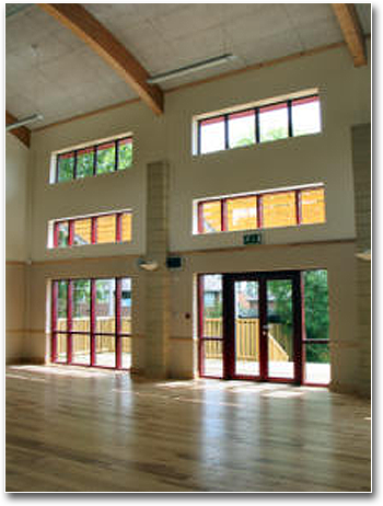 Interior of Murray Hall