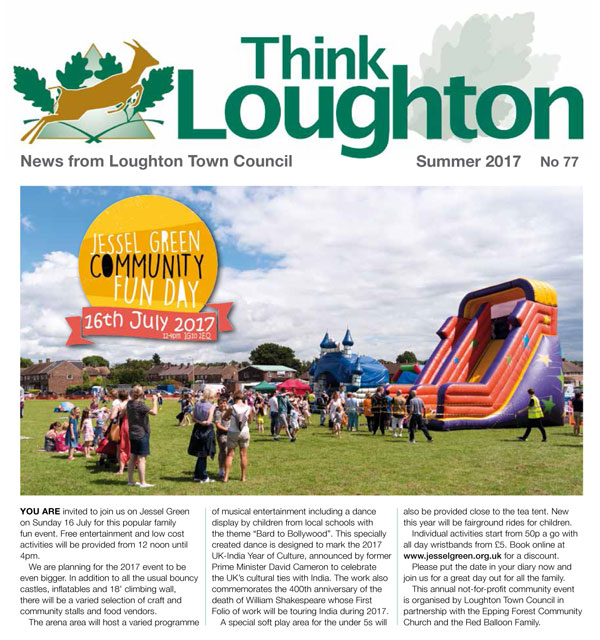 Summer 2017 Newsletter Front Cover