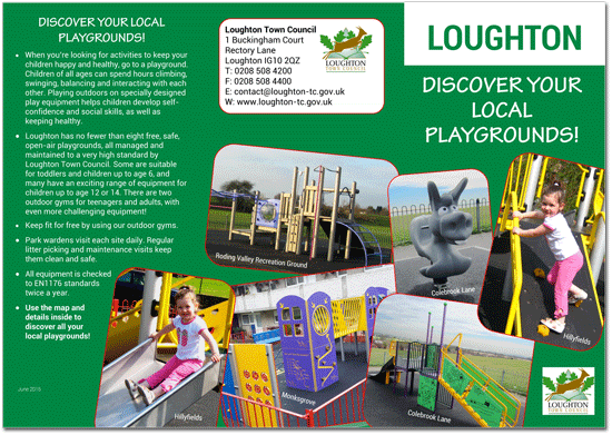 Play areas brochure
